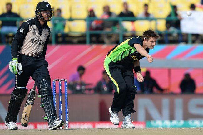 Shane Watson in action against Australia