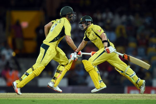 Steven Smith and Mitchell Marsh shared a 122 run stand for fourth wicket