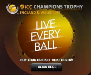 Champions Trophy Tickets